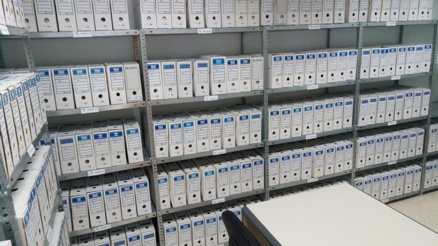 El total de la documentación tratada del fondo documental del extinto Consorcio Insular de la Reserva Mundial de la Biosfera La Palma asciende a 2.011 expedientes y 163.725 imágenes.