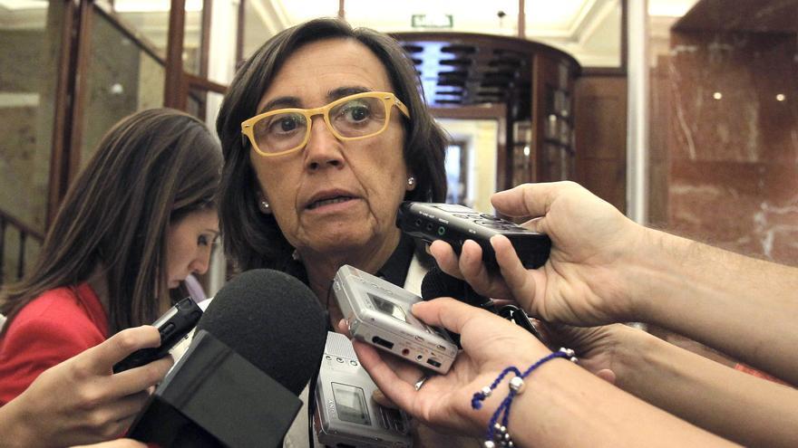 Rosa Aguilar pide, en memoria de Carrillo, un esfuerzo por alcanzar consensos