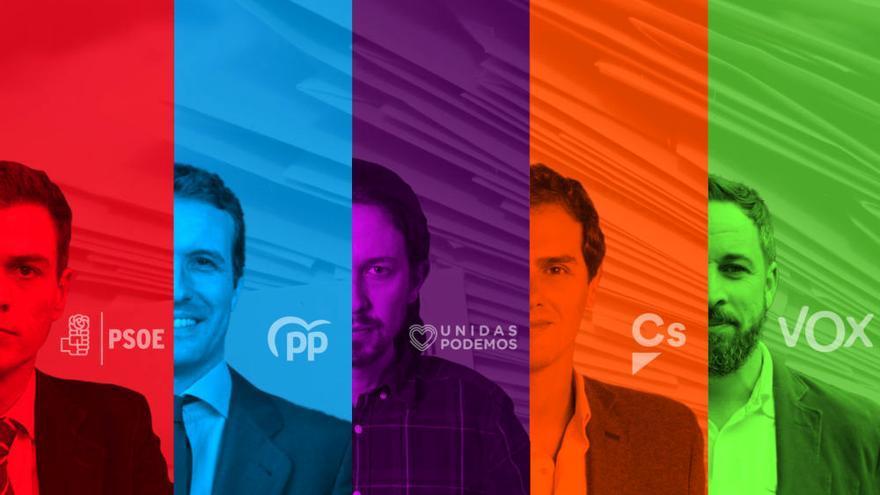"""El """"debate a 5"""" de Atresmedia"""