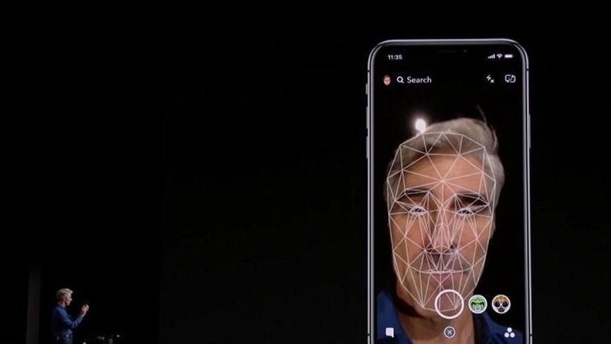 El Face ID de Apple