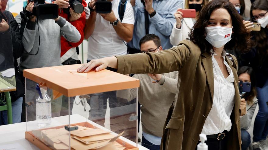 Ayuso: Los madrileños elegirán el modelo de comunidad y de país
