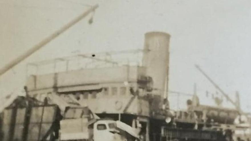 Fotografía de Antón Brouard en 1943 (cortesía de la familia Brouard).