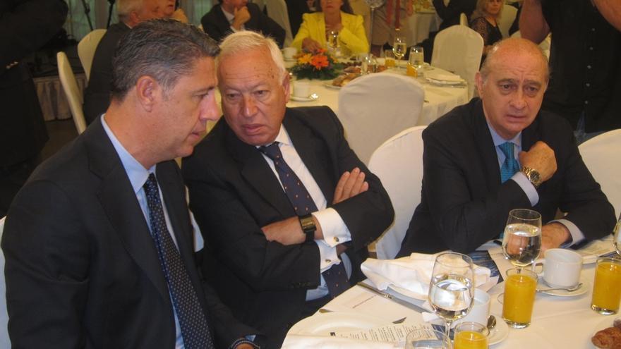 """Albiol ve """"fantástico"""" que Margallo debata con Junqueras sobre la independencia"""
