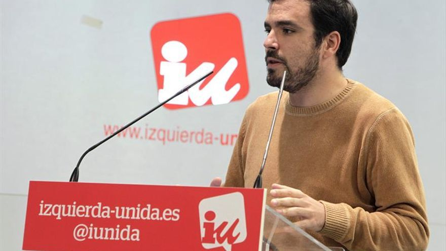 Garzón respetará el proceso de Podemos, pero admite que su debate afecta a IU