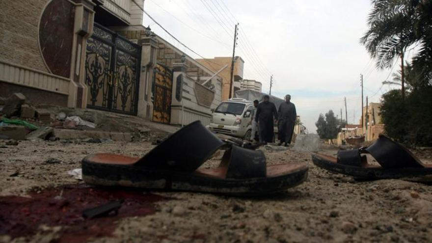 Al menos 10 muertos, seis de ellos uniformados, en ataques en Irak