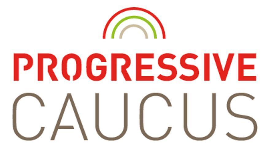 Logo del Progressive Caucus del Parlamento Europeo.