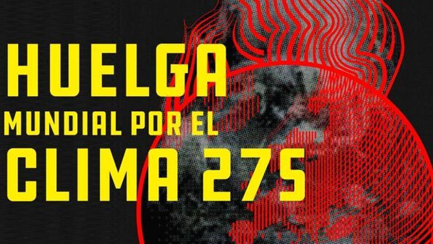 Logo de la 'Huelga Mundial por el Clima' de 27S.