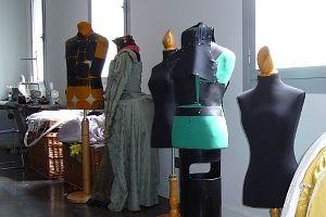 Maniquíes en la clase de vestuario | A.P