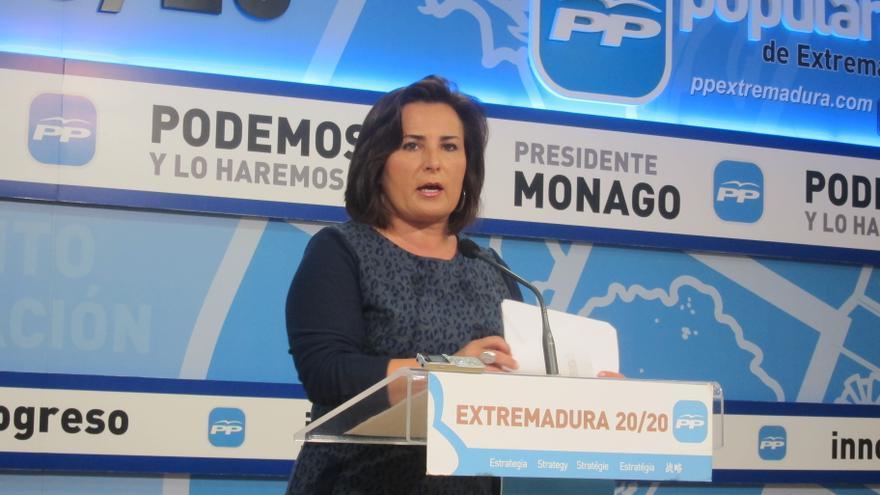 Francisca Rosa, portavoz del PP en Jerez
