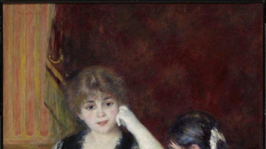 Palco en el teatro- Renoir