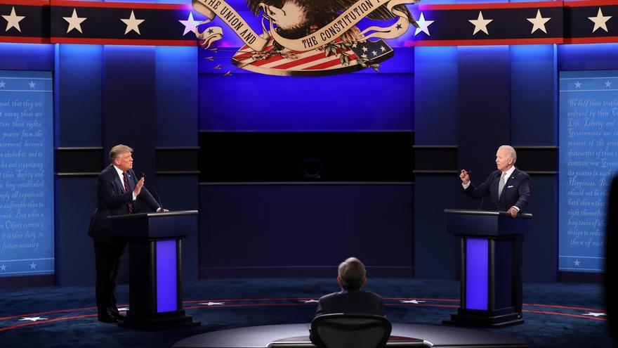 Los organizadores cancelan el debate del jueves entre Trump y Biden por los desacuerdos