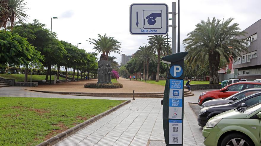 Parquímetro en Las Palmas de Gran Canaria