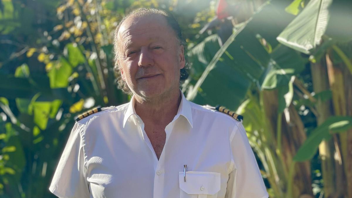 Enrique Piñeyro, en su casa de San Isidro