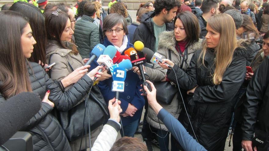 """Diputada de la CUP dice que """"el proceso constituyente ha comenzado"""" y """"la Constitución está muerta"""""""