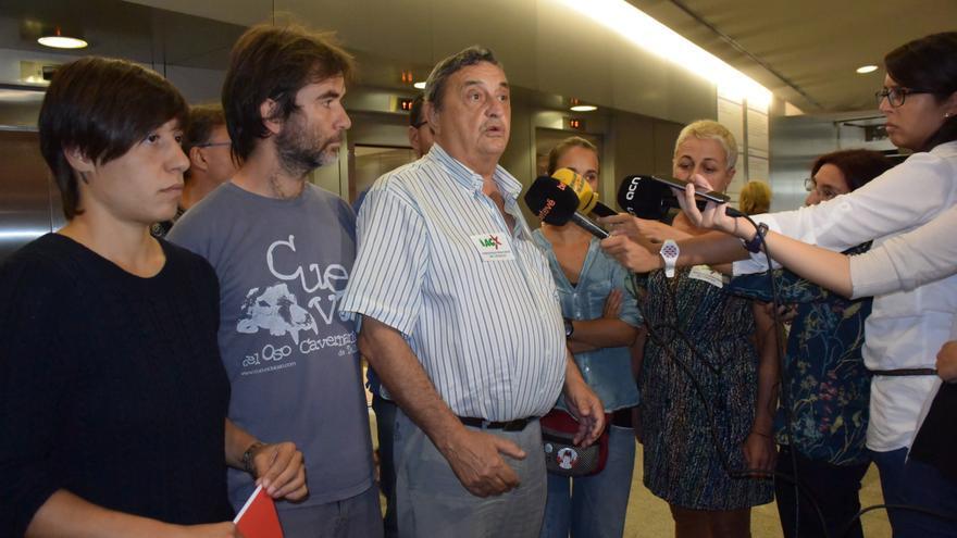 Luis Blanco, de la IAC, explica la posición de los convocantes de la huelga general en Catalunya