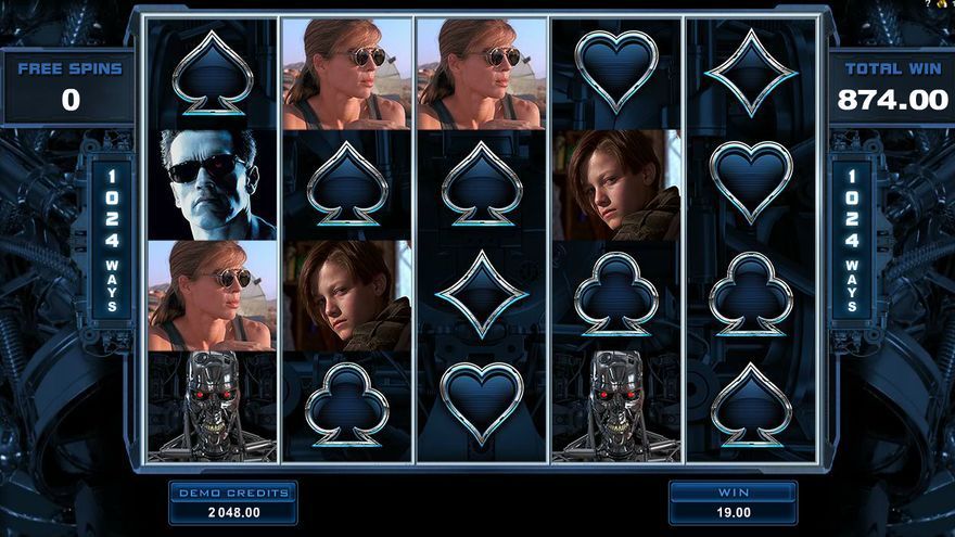 Terminator 2 slot machine