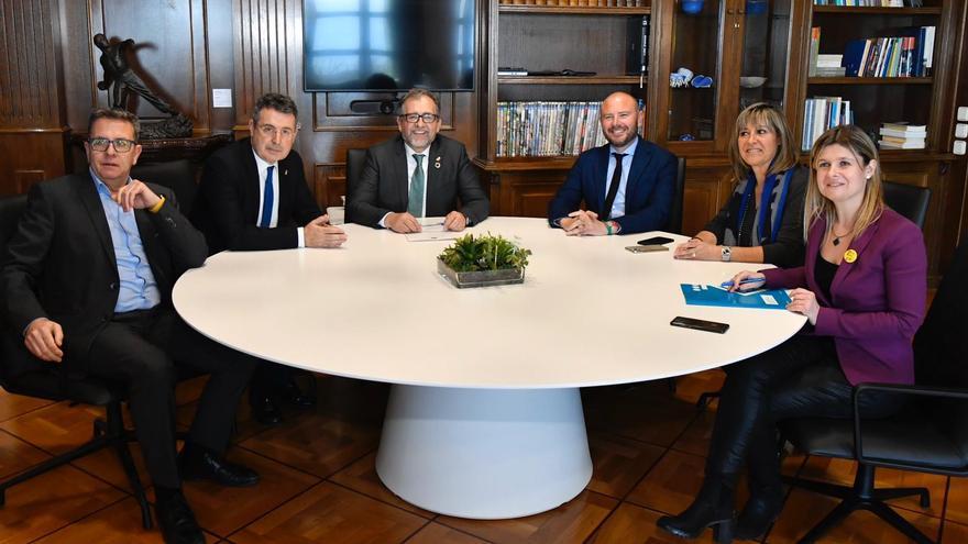 La reunión de los presidentes y presidentas de diputaciones se produjo en Tarragona