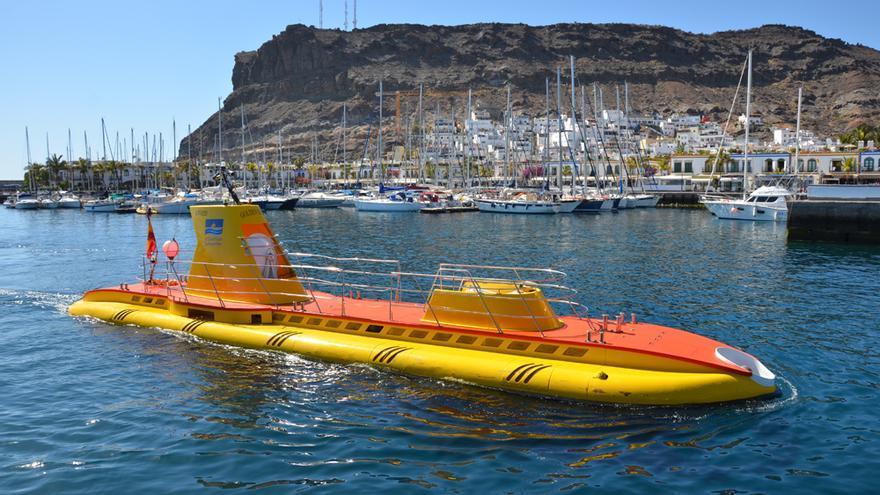 Submarino turístico de Mogán