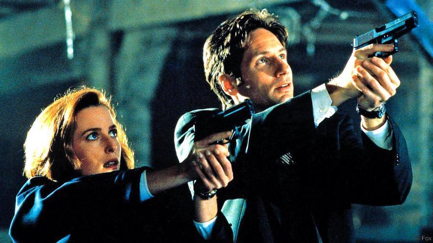 Mulder y Scully, pareja protagonista de 'Expediente C'