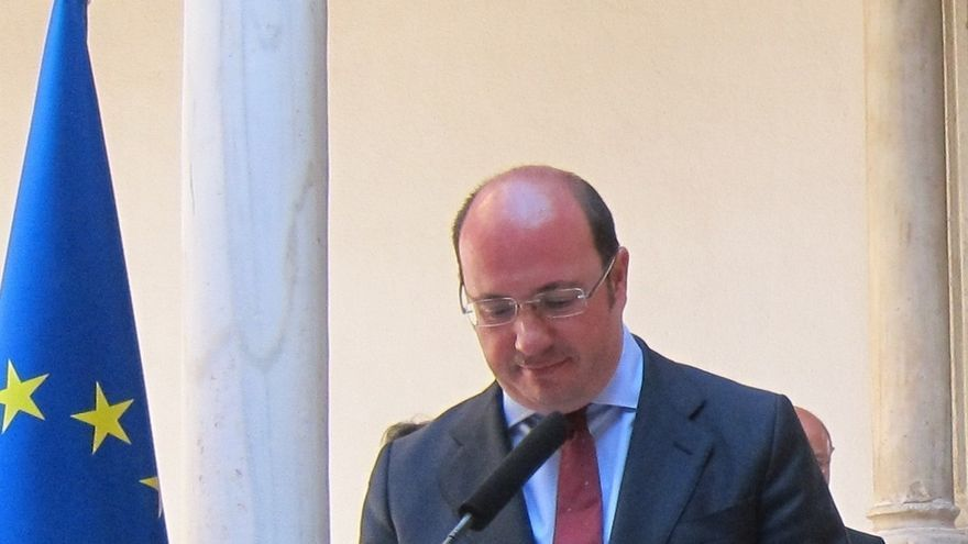 Pedro Antonio Sánchez dimite esta semana de su escaño en la Asamblea y dejará la Presidencia del PP