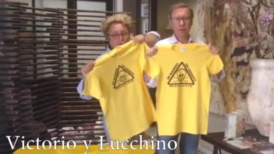 Los modistos Victorio y Lucchino, entre otros muchos, se suman a la campaña