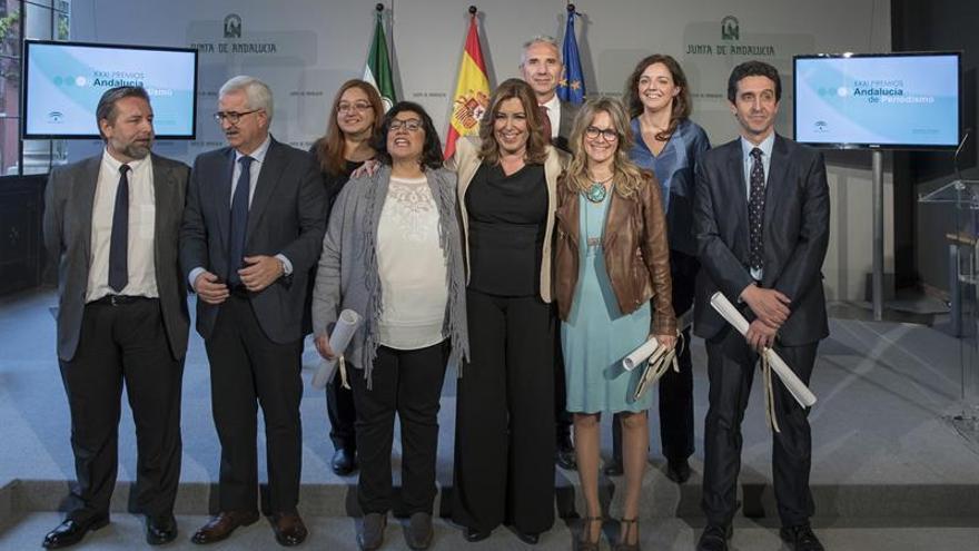 """Díaz reivindica que los medios comunicación vuelvan a dar """"voz a Andalucía"""""""
