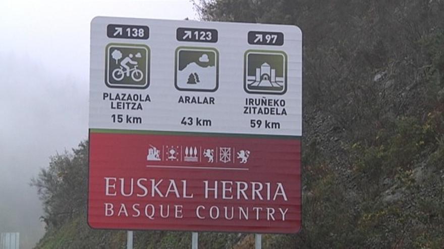 Navarra rechaza su inclusión en los carteles como Euskal Herria.