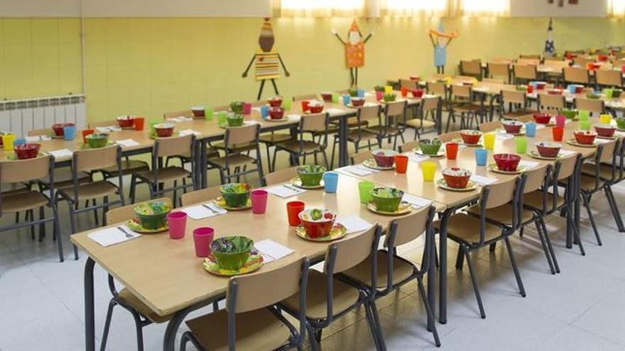 Las ayudas para comedor escolar llegarán a 1.000 alumnos más el ...