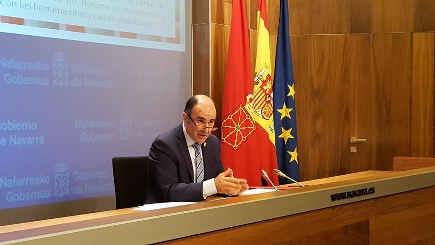 """Vicepresidente navarro dice que el convenio de 2010 sobre el TAV sigue """"vigente"""" y """"no hay causa de incumplimiento"""""""