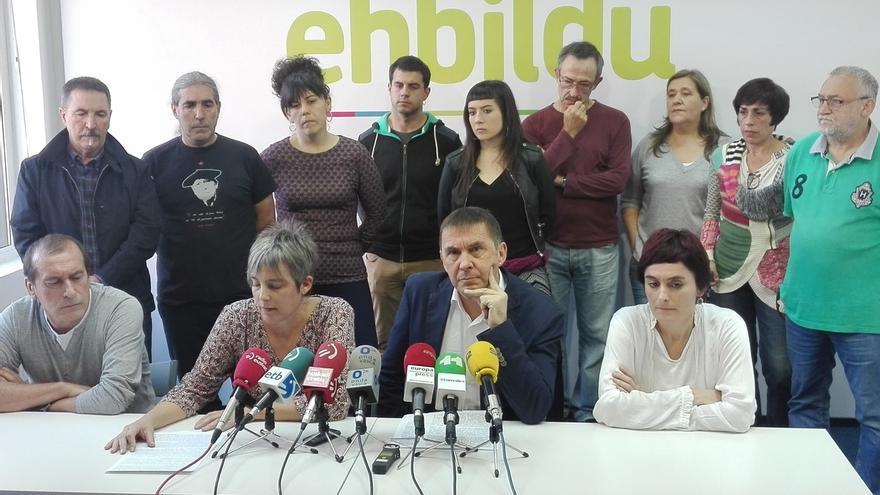 """Otegi dice a PNV que """"no hay margen"""" para que este sábado no se manifieste tras el encarcelamiento del Govern"""