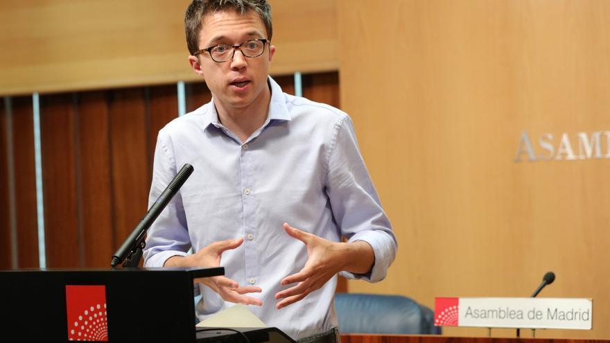 """Errejón vuelve a tender la mano a Ciudadanos y les insta a """"abandonar la soberbia y negociar"""""""