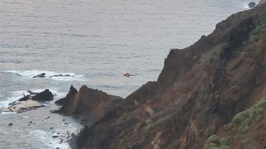 Se sospecha que sea el cuerpo de un joven suizo de 20 años, al que se vio en apuros en una playa de la zona
