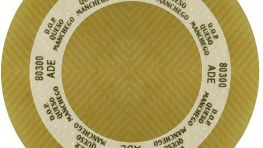 Placa para distinguir el queso manchego