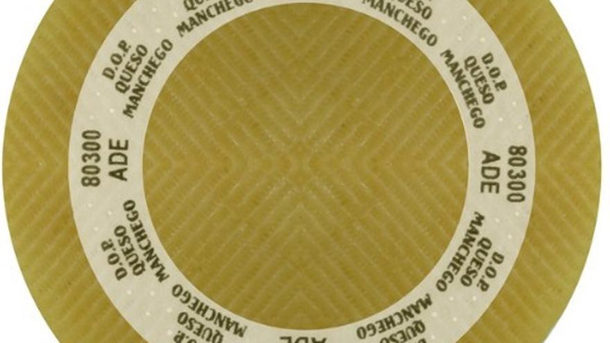 Placa para distinguir el queso manchego