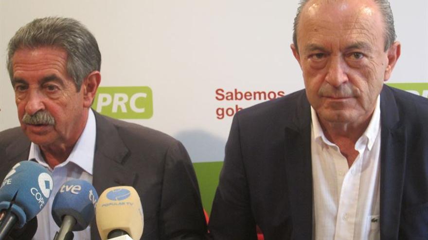 Revilla y Marcano en rueda de prensa