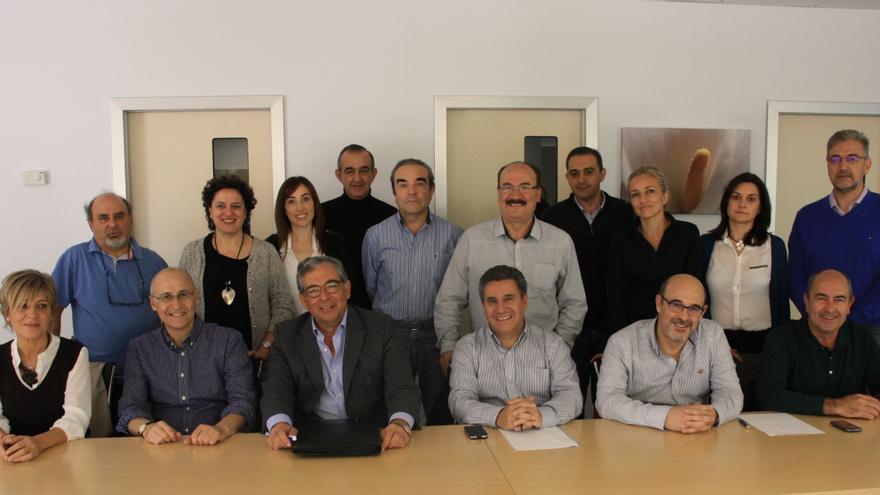 Expertos y profesionales sanitarios de la región en el Hospital de Tomelloso / Foto: JCCM