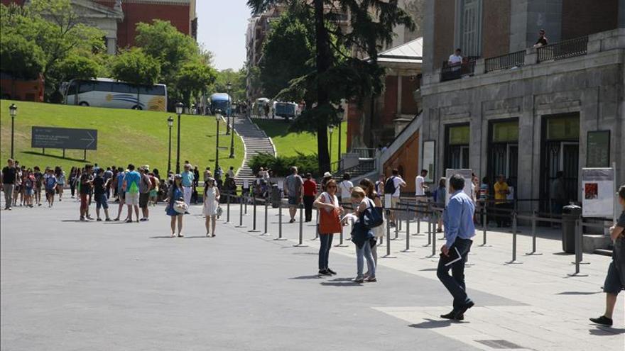 El gasto turístico aumenta un 7,2 % hasta abril y roza los 16.000 millones