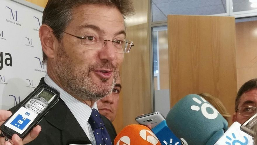 """Catalá dice que el juez decidirá si hubo """"terrorismo"""" en Alsasua y no entiende el argumento de Podemos"""