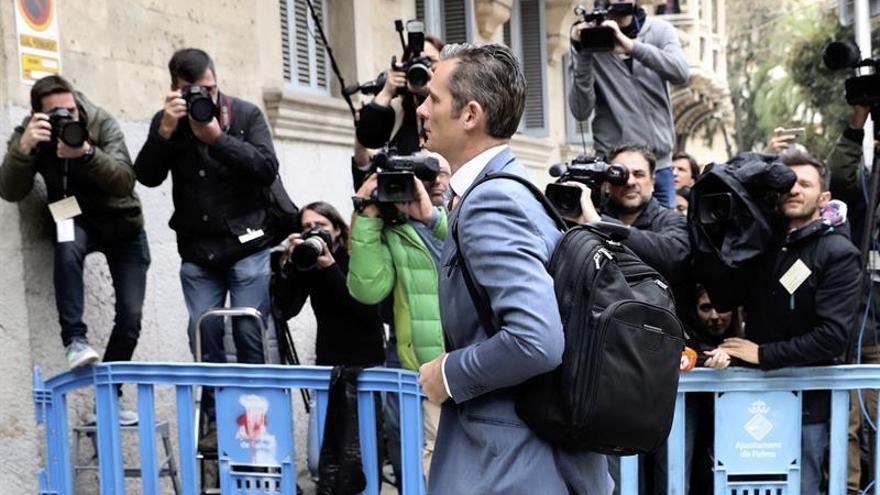 Finaliza la vista de medidas cautelares contra Urdangarin y Torres en Palma