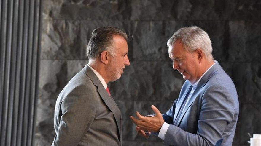 Ángel Víctor Torres y Sebastián Franquis.