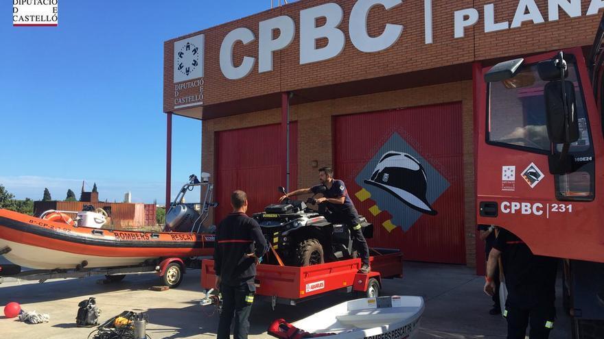 Los bomberos de Castellón han preparado sus efectivos para actuar en este capítulo de gota fría