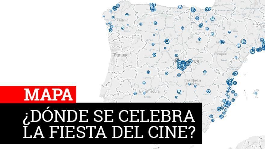 mapa fiesta del cine