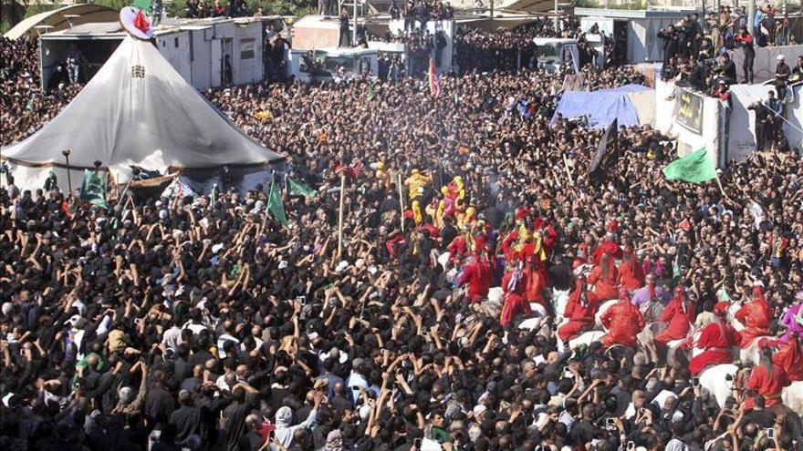 Los chiíes de Oriente Medio celebran la Ashura presionados por el avance yihadista