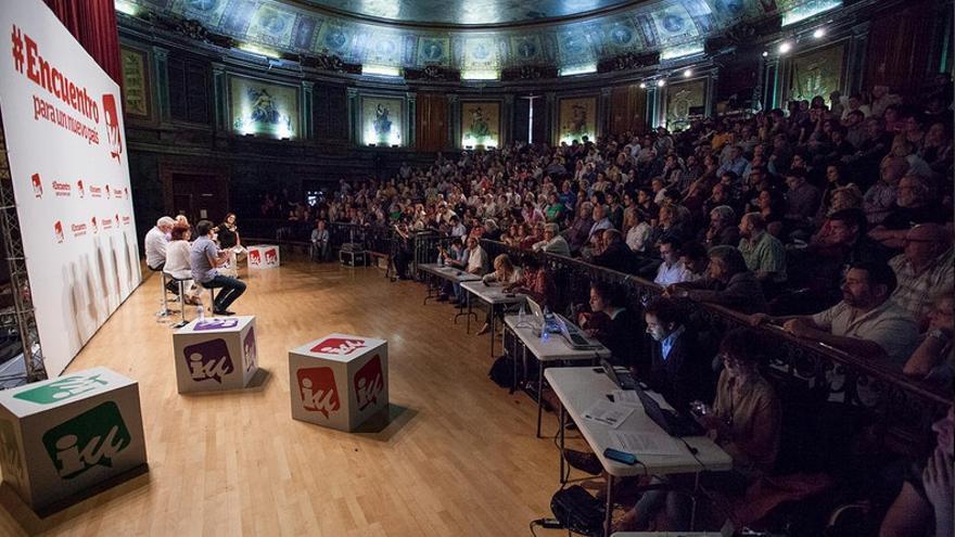 """Presentación del """"#Encuentro para un nuevo país"""", el 25 de septiembre en Madrid. / IU"""