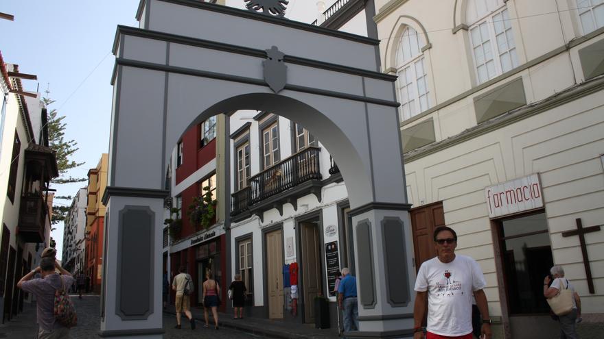 Arco decorativo diseñado por Juan Carlos Martín.