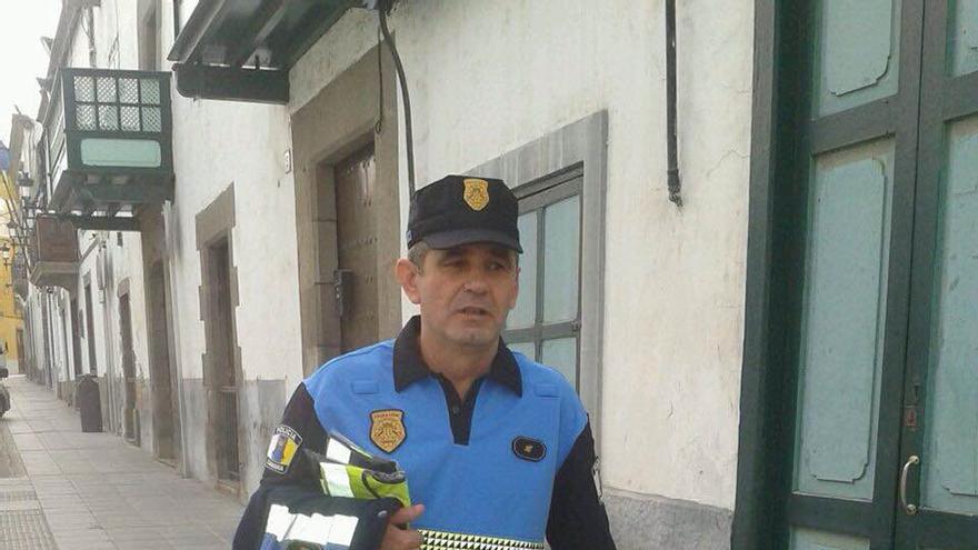 Juan Luis Álvarez, policía local de Telde