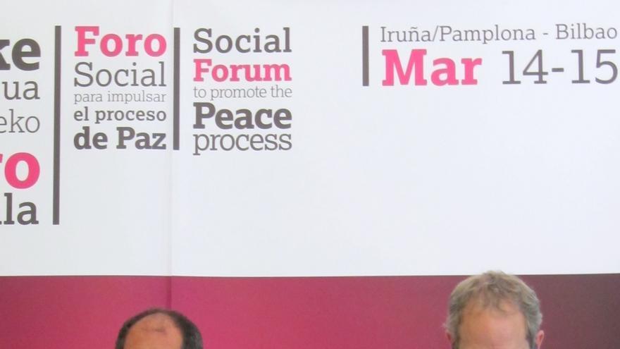 Foro Social: cambiar ley penitenciaria, final sin vencedores ni vencidos y reducción policial para que ETA se desmantele