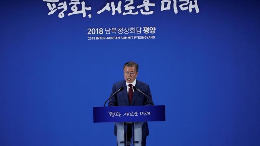 Moon transmitirá personalmente al papa Francisco la invitación de Kim Jong-un