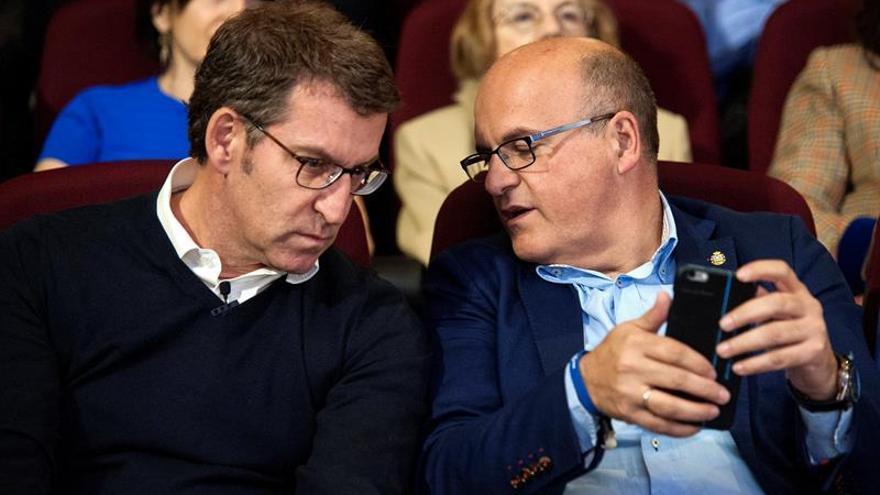 """Feijóo pide el """"voto útil"""" para lograr una nueva mayoría absoluta en Galicia"""