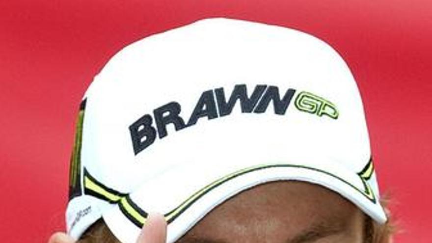 Button visita la fábrica de McLaren sin haber renovado todavía con BrawnGP